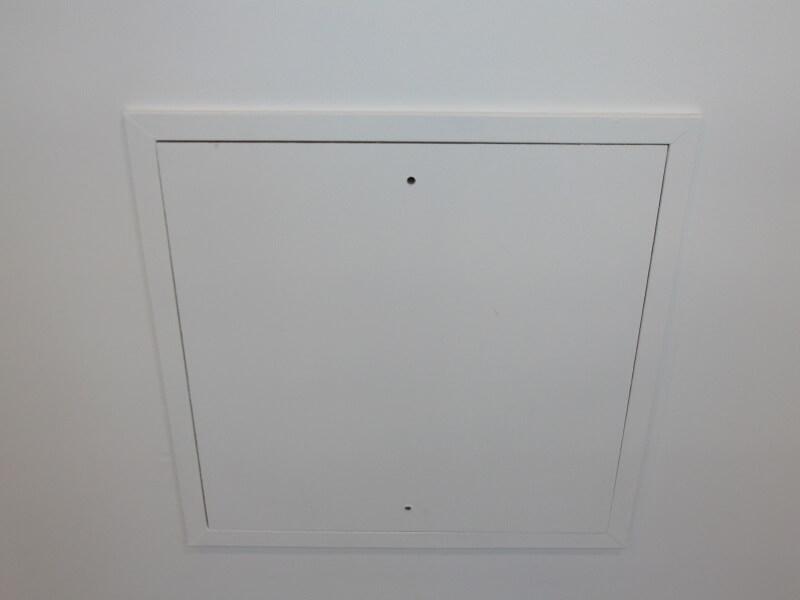 ECD Germany Trappe de R/évision Visite 150 x 200 mm Plaque de pl/âtre 12,5mm Porte Mur de Maintenance Panneau Volet d/´Inspection Nettoyage Entretien de Acc/ès Contr/ôle 15x20cm pour locaux humides